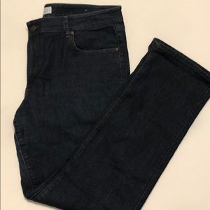 LOFT curvy straight denim